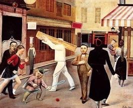 巴尔蒂斯 Balthus la rue