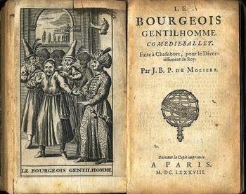 Le Bourgeois gentilhomme 1688 莫里哀 Molière