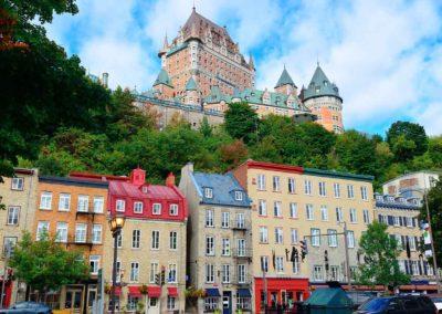 魁北克(加拿大魁北克城)Québec - Chateau Frontenac