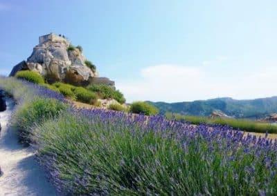 普罗旺斯地区莱博_Les Baux-de-Provence chateau-les-baux