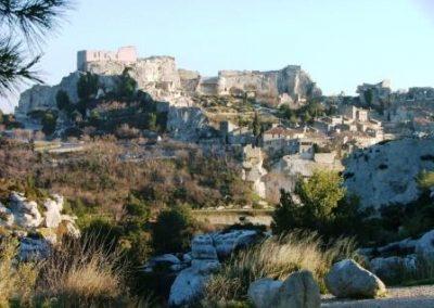 chateau-et-village-普罗旺斯地区莱博_Les Baux-de-Provence