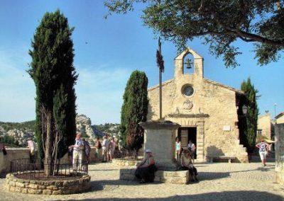 eglise_普罗旺斯地区莱博_Les Baux-de-Provence