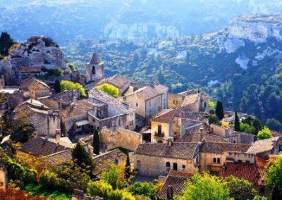 le_village_普罗旺斯地区莱博_Les Baux-de-Provence