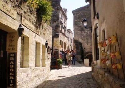 rue-普罗旺斯地区莱博_Les Baux-de-Provence
