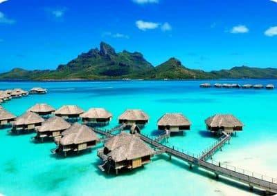 塔希提岛_Tahiti_bungaloos