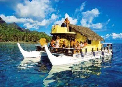 塔希提岛_Tahiti_pirogue
