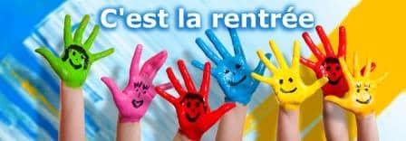 法语生活词汇_开学返校法语语法表达_La rentrée scolaire_rentree-Enfants