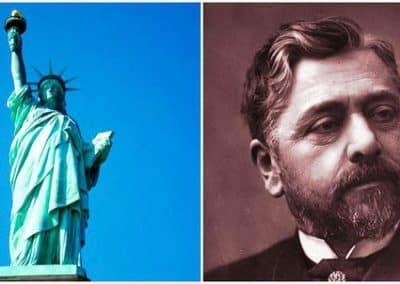 古斯塔夫·埃菲尔_Gustave Eiffel-et-statue-of-liberty