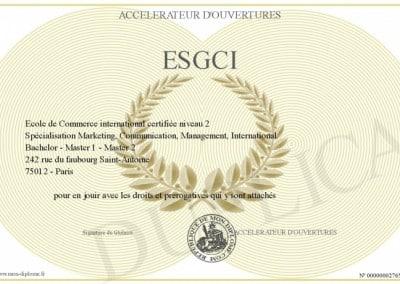 ESG 巴黎高等管理学院集团