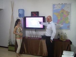 2014年9月1日»法语角» -大连星海广场中心 «coin de français» Vins de Provence 普罗旺斯葡萄酒