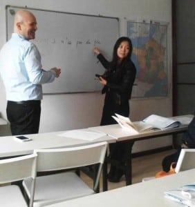 企业商务法语班