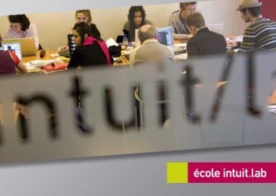 Intuit. lab 巴黎视觉传达学校