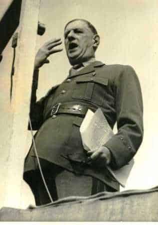 """即夏尔·戴高乐 Charles de Gaulle """"政治生涯"""""""