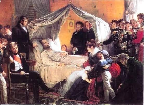 拿破崙·波拿巴_拿破崙生平_去世_Napoléon Bonaparte_Sa mort