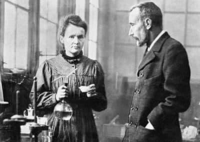 皮埃尔.居里_Pierre Curie et Marie Curie