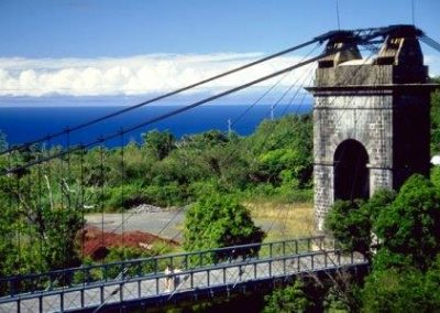 Reunion_Pont_suspendu 留尼汪岛_L'île de la Réunion