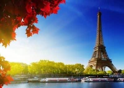 Tour Eiffel_Seine_生活中的法语词汇_时间_Le temps