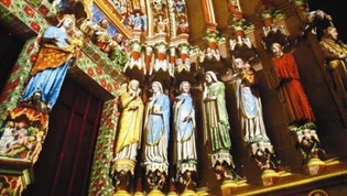 亚眠 Amiens_cathedrale_vierge_saints_