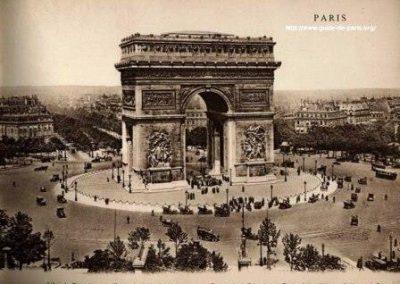 巴黎凯旋门_Arc de Triomphe de l'Étoile _histoire