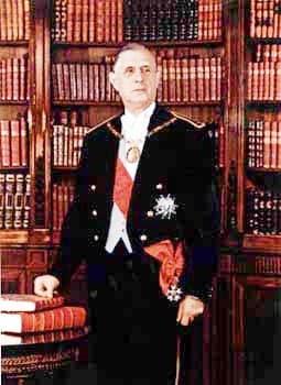 """即夏尔·戴高乐 Charles de Gaulle """"政治生涯""""_Président"""