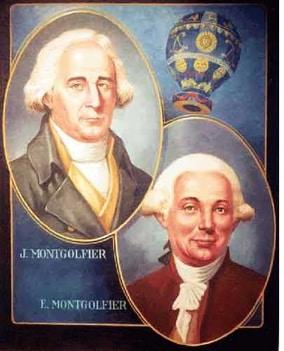 孟格菲兄弟 Les frères Montgolfier