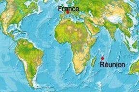 留尼汪岛_L'île de la Réunion-carte