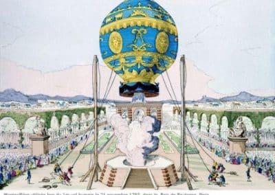 孟格菲兄弟 Les frères Montgolfier_montgolfiere_21novembre_1783