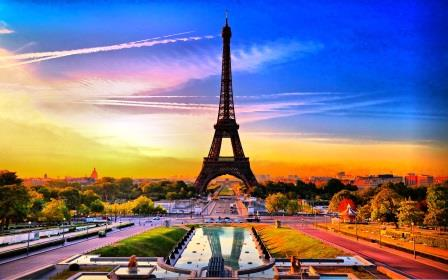paris-france_Tour Eiffel_生活中的法语词汇_时间_Le temps