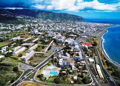 st_denis_vue_aerienne 留尼汪岛_L'île de la Réunion