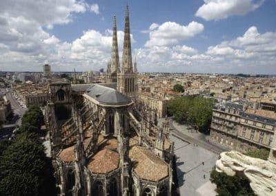 cathédrale-tour-pey-berland-法国波尔多 Bordeaux