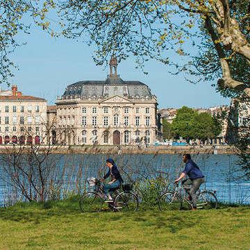 法国波尔多 Bordeaux-a-bicyclette_