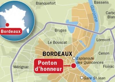 法国波尔多 Bordeaux-carte-de-localisation