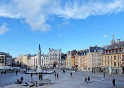 法国里尔-Lille_Grande Place