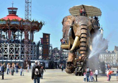法国南特 Nantes - Grand Éléphant. Les Machines de l'ile.