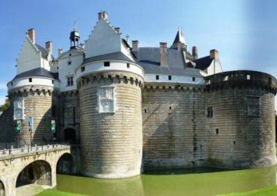 法国南特 Nantes-château-des-ducs-de-bretagne