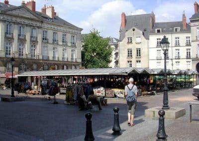法国南特 Nantes-place_bouffay