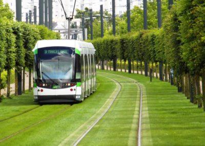 法国南特 Nantes-tramway