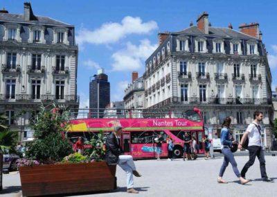 法国南特 Nantes-place-saint-pierre-dans-le-centre-de-nantes