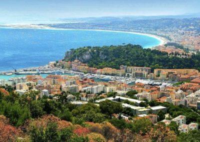 法国尼斯 Nice - Vue des Hauteurs