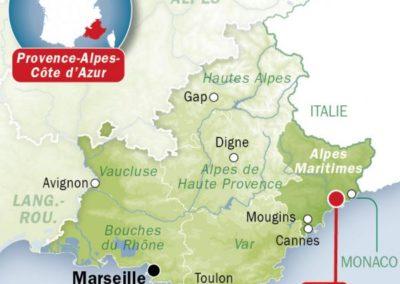 法国尼斯 Nice-carte